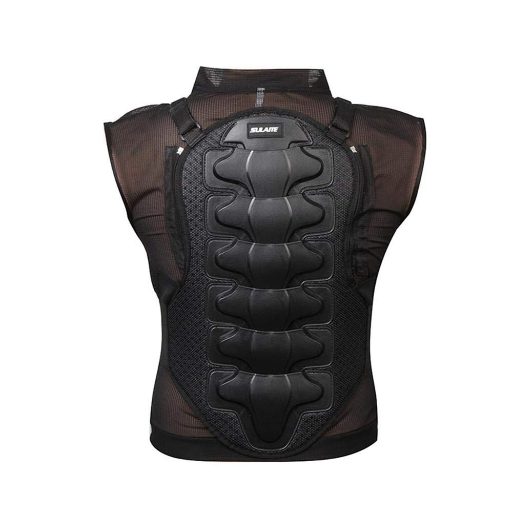 Adultes Dirt Bike Body Poitrine Spine Guard Guard M Katurn Moto Gilet de Protection Sport Motocross VTT Racing sans Manches Armor Vest