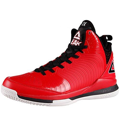 PEAK Mens NBA Player Exclusive BATTIER IX Basketball Shoes Red/Black