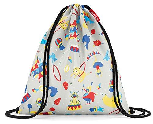 Cheap reisenthel Mysac Kids, Durable Drawstring Backpack, Circus Red
