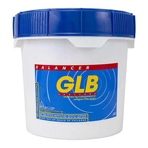 GLB Pool & Spa Products 71214 25-Pound Calcium Hardness Up Pool Water Balancer ()