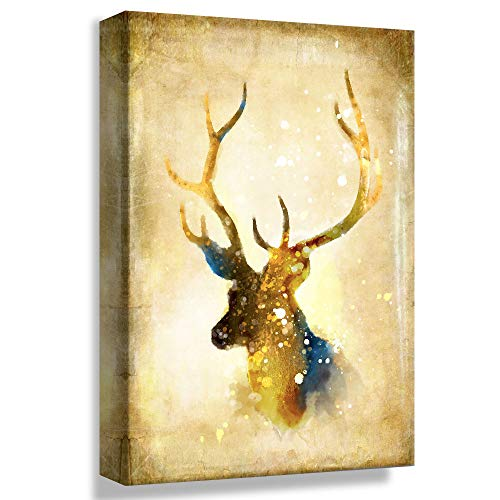 (B2T Vintage Mystery Deer Decor - 24x36 inches)