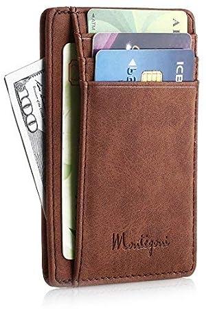 e64608c4ea87e Montegoni Kreditkartenetui mit RFID Schutz