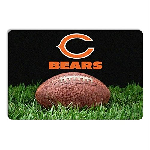 Pet Care Preferred Chicago Bears Classic Football Pet Bowl Mat by Pet Care Preferred