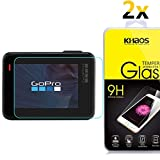 [2-Pack] Khaos For GOPRO HERO5 HD Clear Tempered Glass Screen Protector with Lifetime Replacement Warranty