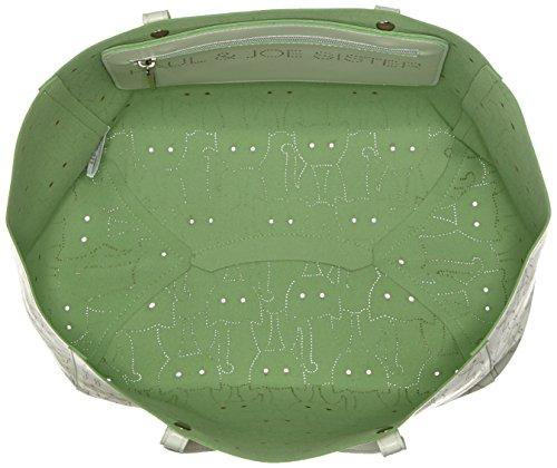 Oilily Damen Office Bag Laptop Tasche, 13x30x39 cm Grün (Nori Green)
