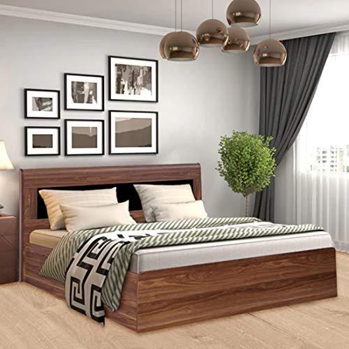 Woodcasa Helio Engineered Wood King Size Bed with Box Storage