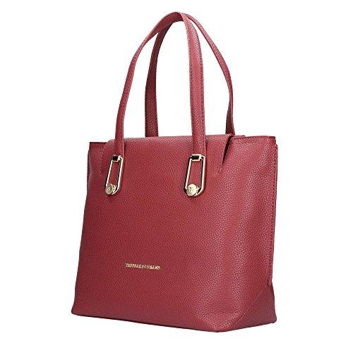 Trussardi Jeans , Sac pour femme à porter à l'épaule Rouge 39 ROSSO