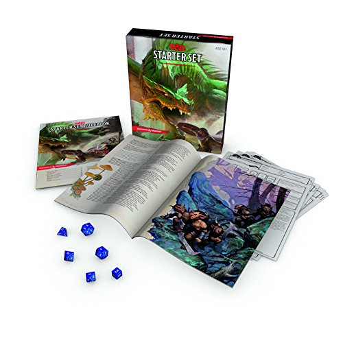 Dungeons & Dragons Starter Set: Fantasy D&D Roleplaying Game 5th (D&d Dragon)