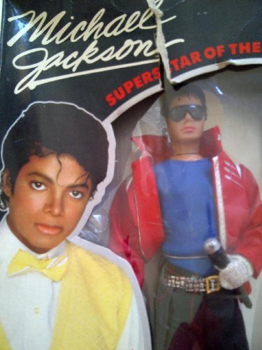 Michael Jackson ''Superstar of The 80's'' Beat it Doll