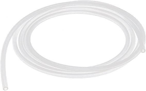 5 m, PVC, interior de 4 mm, exterior de 6 mm, transparente PCP4//6 Rollo de manguera