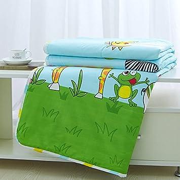 Amazon.com: KFZ Quilt Colcha de colcha de cama de algodón ...