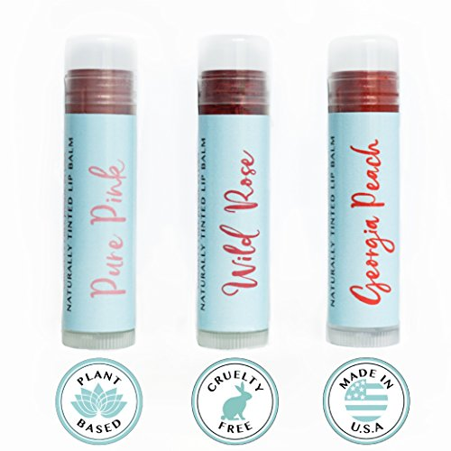 All Natural Tinted Lip Balm - 3