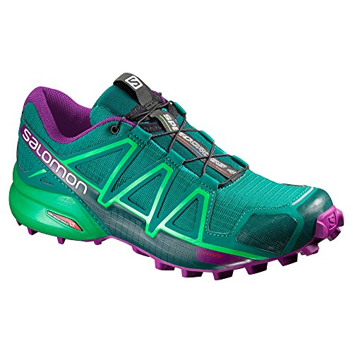 Salomon Running Women's 7 Speedcross Shoes Trail 4 TFTBZ
