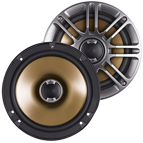 Polk Audio DB651s Slim-Mount 6.5-Inch Coaxial Speakers - 2 pairs (4 ()