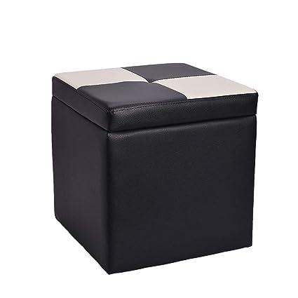 Awesome Amazon Com Kdjbdm Storage Stool Wooden Stool For Exchange Evergreenethics Interior Chair Design Evergreenethicsorg