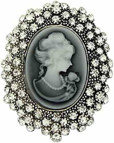 6f08b8113 YAZILIND Fashion Flower Inlaid Rhinestones Alloy Zirconia Pendant Brooch  Pin Women Girls Accessories. seller: YAZILIND JEWELRY LTD. (1). YAZILIND  Vintage ...