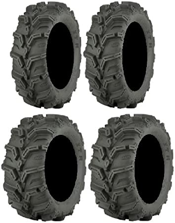 25x8-12 and 25x10-12 ATV Tires 4 Full set of ITP Mud Lite II 6ply