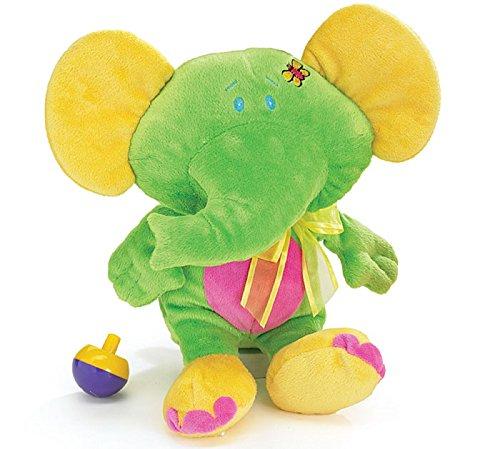 Price comparison product image Petunia Green Elephant Baby Plush Animal