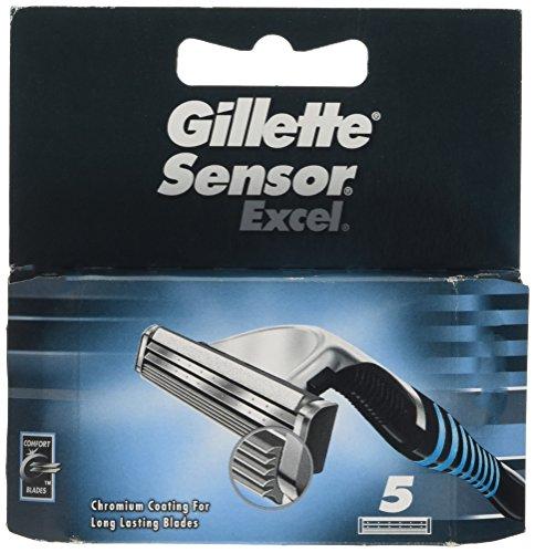 Gillette Sensor Excel Blades 5 (2 Excel Blades)