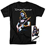 David Gilmour Pink Floyd Guitar T Shirt & Exclusive Stickers