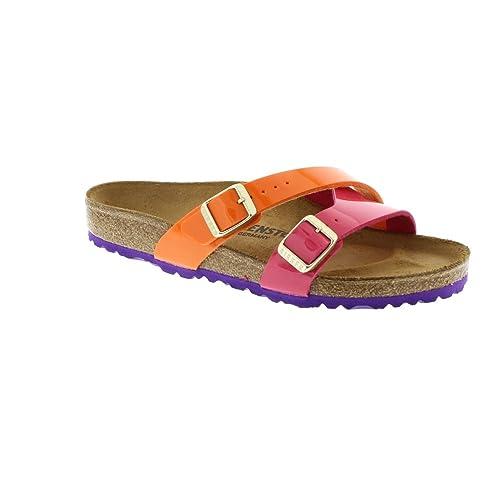 a2440abe1adb Birkenstock Womens Womens Yao Sandals Regular Width in Orange - UK ...