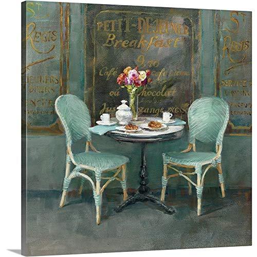 Joy of Paris II Canvas Wall Art Print, -