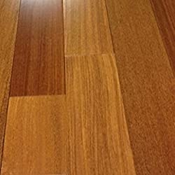 """Brazilian Teak Clear Prefinished Solid Wood Flooring 5"""" x 3/4 Samples at Discount Prices by Hurst Hardwoods"""