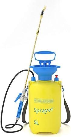 Rociador De Jardín De Mano para Productos Químicos De Agua Y Pesticidas,C-5L: Amazon.es: Hogar