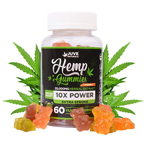 Juve-Naturals-Hemp-Gummies-for-Sleep-Pain-Relief-Stress-Anxiety-and-Brain-Focus-Immunity-Boost-Natural-Vitamin-C-Made-in-USA-with-Hemp-100-Natural-and-Safe-Tasty-Gummies-Omega-3-6-9