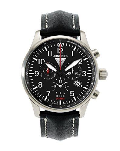 Junkers 150 Years Hugo Junkers Chronograph Alarm Watch 6684-2