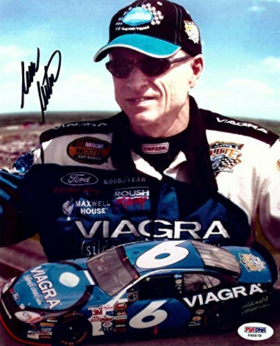 Mark Martin Signed Photograph - 8X10 Driver Collage for sale  Delivered anywhere in Canada
