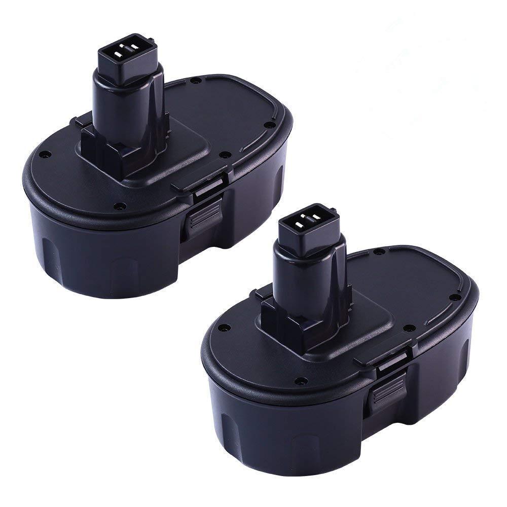 DC9098 Replace for Dewalt 18V Battery XRP DC9096 DC9098 DC9099 DW9095 DW9096 DW9098 DE9039 Cordless Power Tool 2 Pack