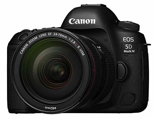 Canon デジタル一眼レフカメラ EOS 5D MarkIV レンズキット EF24-70 F2.8L II USM 付属 EOS5DM4-2470LIILK product image