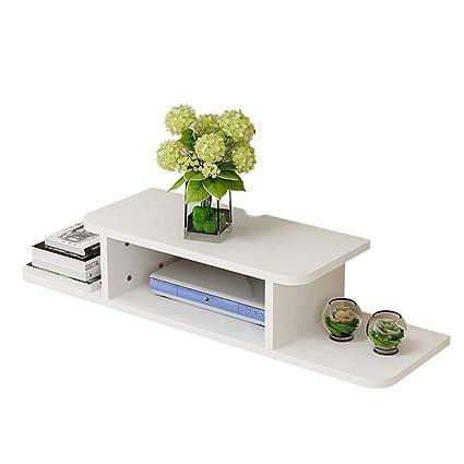 online store b2b56 5a8c1 Amazon.com: Wall-Mounted WiFi Rack, TV Console Wall Shelf ...