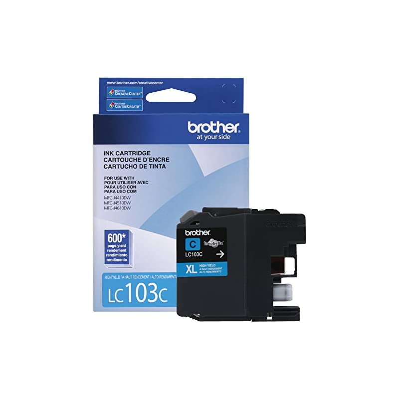 Brother Printer LC103C High Yield Cartri
