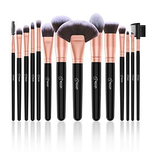 85562c8a00d0 BESTOPE 14pcs Makeup Brushes Premium Synthetic Kabuki Makeup - Import It All