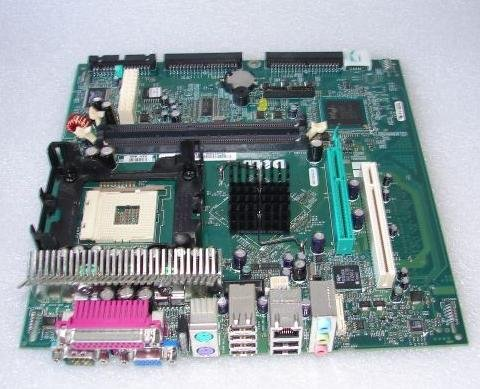 Genuine DELL YF936 Motherboard Mainboard Systemboard, For The Optiplex GX270 Small Form Factor (SFF) Systems, Compatible Part Numbers: CG555, H1291, DG286, C2057, X1105, H6405, FC092, X8677, J9057, Motherboard DOES NOT Include Any of The Following: Case, Processors, Heatsinks, Hard Drives, Optical Drives, or Memory (Pentium 4 2gb Memory Celeron)