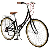 Critical Cycles Beaumont-7 Seven Speed Lady's Urban City Commuter Bike; 38cm, Black, 38cm/Small Review