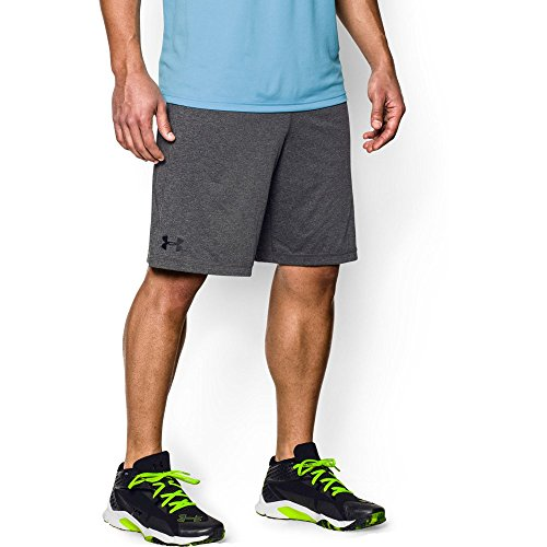 "Under Armour Men's Raid 10"" Shorts, Carbon Heather/Black, Medium"