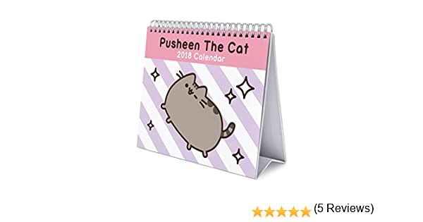 Grupo Erik Editores Calendario Sobremesa Deluxe 2018 Pusheen The Cat