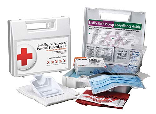 (First Aid Kit, BBP, 1 Person, Plastic)