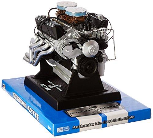 Shelby Aluminum Block (Liberty Classics 84427 1/6 Scale Die Cast Shelby 427 Cobra Engine Replica)
