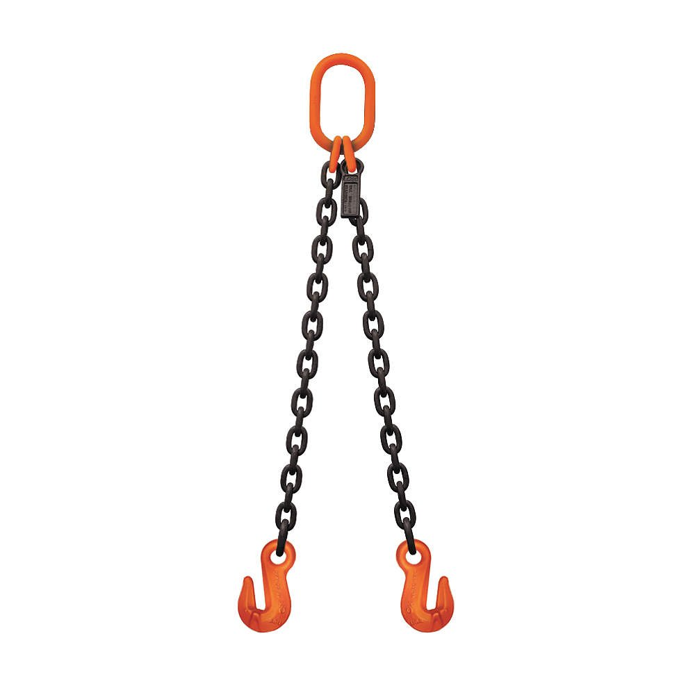 Stren-Flex - SF1206G10DOG - 6 ft. Painted Alloy Steel Chain Sling with DOG Sling Type