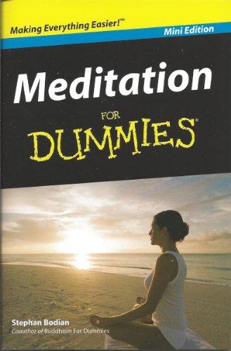 Meditation For Dummies (Mini Edition)