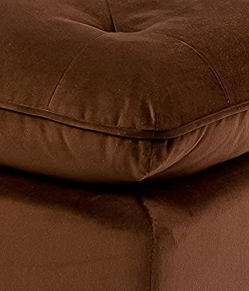 Best Selling Tufted Ottoman, Brown