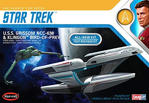 Polar Lights Snap (1/1000 Star Trek U.S.S. Grissom and Klingon Bird Of Prey Plastic Model Kit)