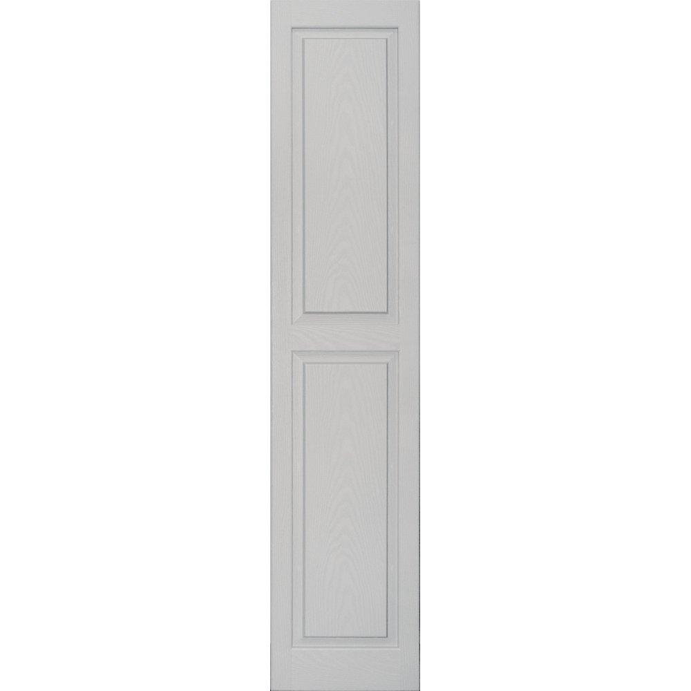 Vantage 3114067030 14X67 Raised Panel Shutter/Pair 030, Paintable by Vantage