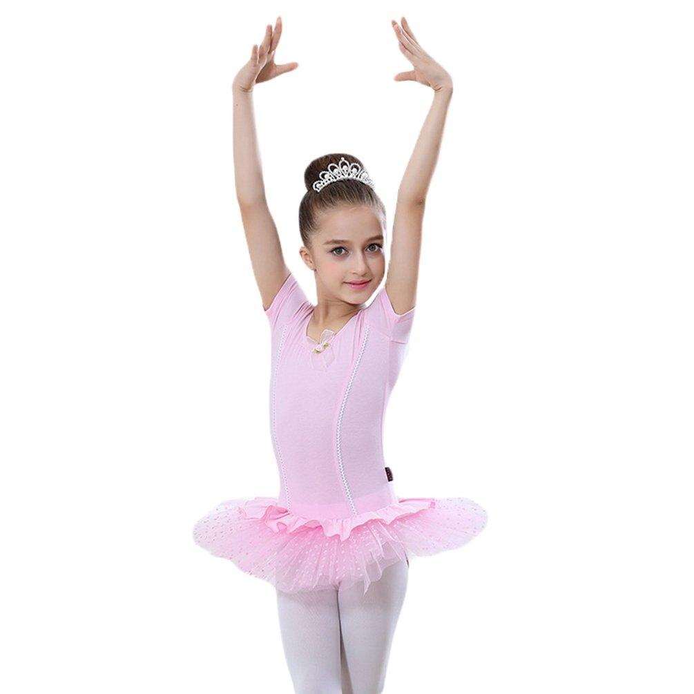 Yiiquan Ragazze Vestito da Principessa Pratica Gonna di Tulle Stratificato Balletto Danza Tutu