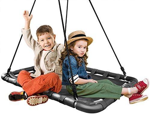 Sorbus Spinner Platform Swing Rectangular