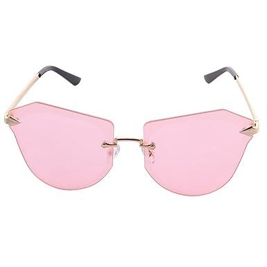 ogobvck des lunettes de soleil, des lunettes surdimensionnées lentille de taille de diamants des lunettes de soleil (black)